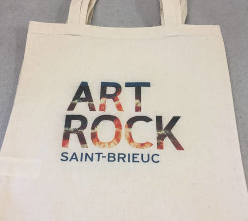 Sac cabas fourre tout art rock saint brieuc