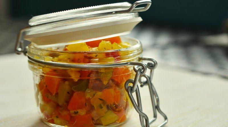 bocal en verre pour conserver les aliments longtemps