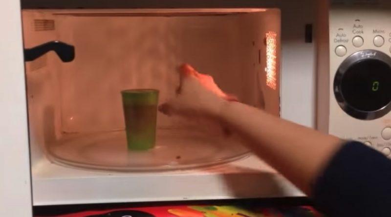 Stérélisation de la cup menstruelle aux micro-ondes